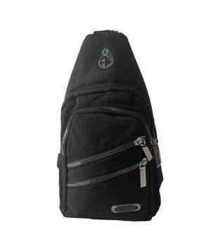 Мужская сумка через плечо Gorangd 31 x 18 x 9см Черный (gor919/1)