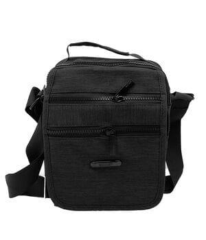 Мужская сумка AoTian 23 x 18 x 10 см Черная (ao4069/1)