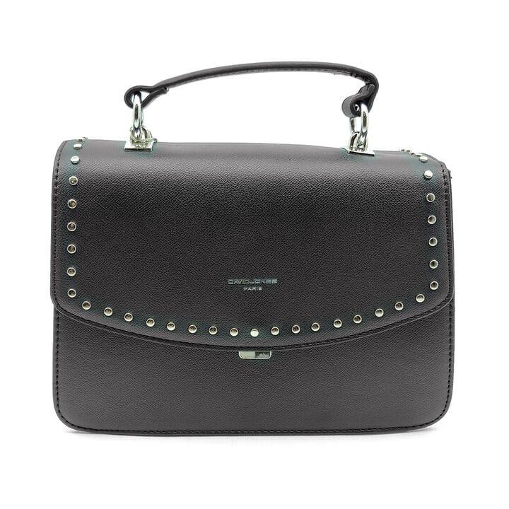 Женска сумка David Jones 17,5 x 26 x 11 см Черная (djcm5486t/1)