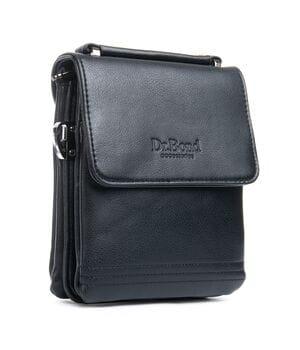Мужская сумка Планшет Dr.Bond 17 x 20 x 5см Черный (db319-1)
