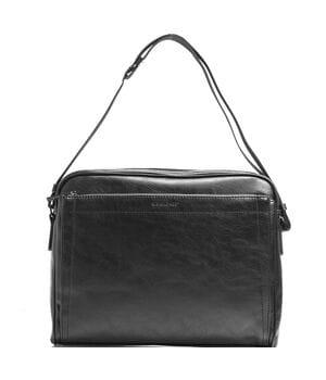 Мужская сумка David Jones 36 x 10 x 28 см Черная (dj686602)