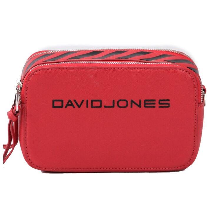 Женская сумка кросс-боди David Jones 13 х 21 х 7 см Красный (dj6169-1/2)