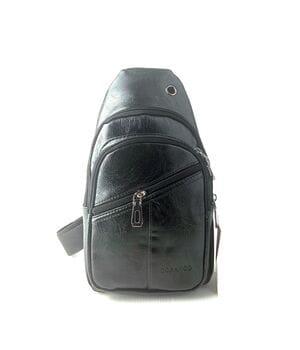 Мужская сумка через плечо Gorangd 29 x 17 x 9см Черный (gor222)
