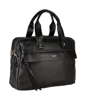Мужская сумка David Jones 39 x 28 x 10 см Черная (dj807702)