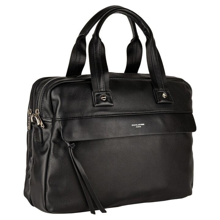Мужская сумка David Jones 39 x 28 x 10 см Черная (807702)