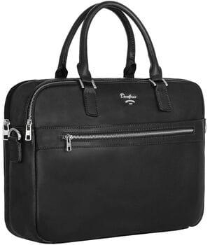 Мужская сумка для документов/портфель David Jones Черный (698804)