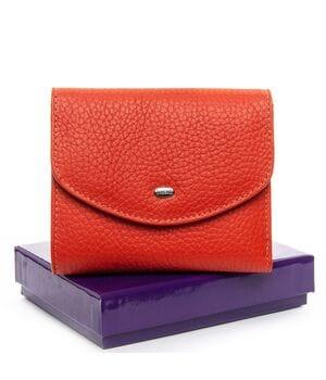 Женский кожаный кошелек Dr.BOND 12 x 10 x 2,5 см Оранжевый (ws-4)