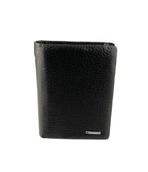 Мужской кожаный кошелек Cardinal 13.5 x 10 x 3 см Черный (234-a)