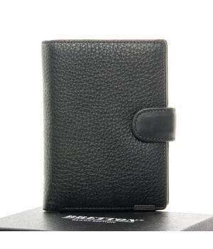 Кожаный мужской кошелек BRETTON Черный (3104-5)