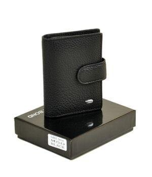 Правник кожаный Dr.BOND 8 x 10,5 x 2 см Черный (m50)