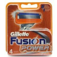 Змінні картриджі для верстата Gillette Fusion Power 4шт (KGFP4)
