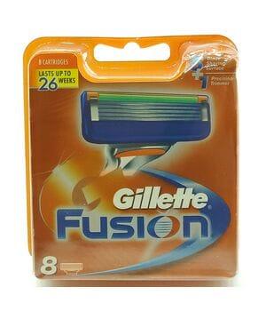 Сменные картриджы для станка Gillette Fusion 8шт (KGF8)