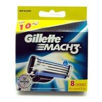 Змінні картриджі для верстата Gillete Mach 3 8шт (KGM38)