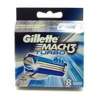 Змінні картриджі для верстата Gillete Mach 3 Turbo 8шт (KGM3T8)