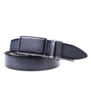 Мужской кожаный ремень JK Серый (MA352100132)