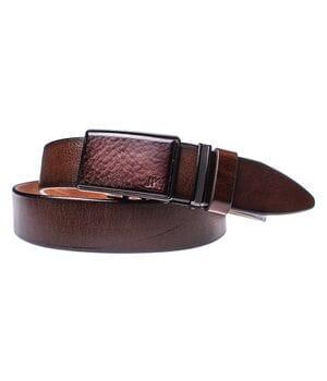 Мужской кожаный ремень JK Светло-коричневый (MA352040131)
