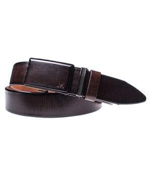 Мужской кожаный ремень JK Коричневый (MA352030131)