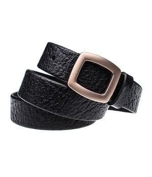 Женский кожаный ремень JK Черный (WG302010115)