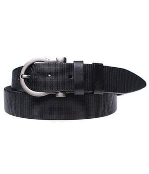 Женский кожаный ремень JK Черный (WC351012230)