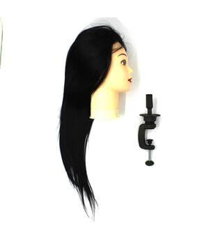 """Голова-манекен SPL, искусственные волосы """"брюнет"""" 50-55см + штатив (518/C-1)"""