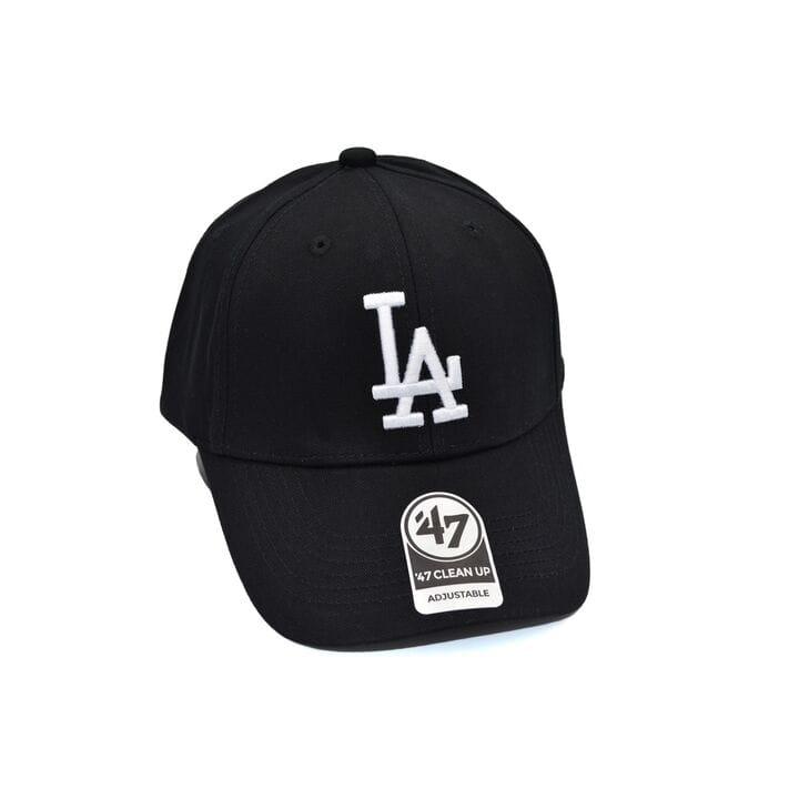 Бейсболка MBL 47 Adjustable LA Dodgers чёрная (C 0919-227)