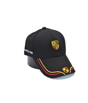 Кепка Fang c автомобильным логотипом Porsche 56-58 см чёрная (F 0919-485)