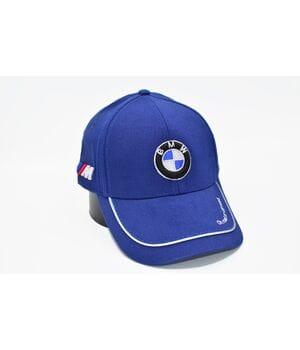 Кепка Fang c автомобильным логотипом BMW 56-58 см синяя (S 0919-492)
