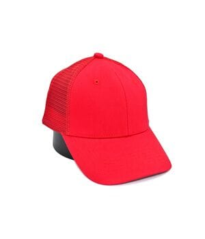 Бейсболка Classic сетка однотонная 56-59 см красная (C 0919-514)