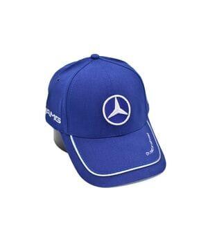 Кепка Fang c автомобильным логотипом Mercedes-Benz 56-58 см синяя (F 0919-185)