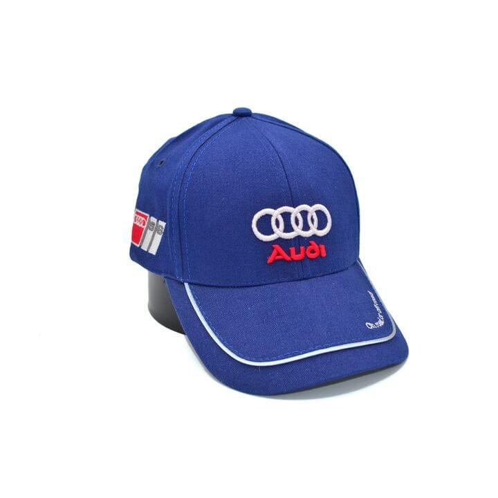 Кепка Fang c автомобильным логотипом Audi 56-58 см синяя (S 0919-497)
