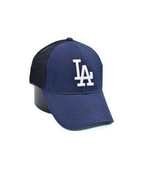 Бейсболка сетка Art cap LA Dodgers 56-61 см синяя (0919-527)