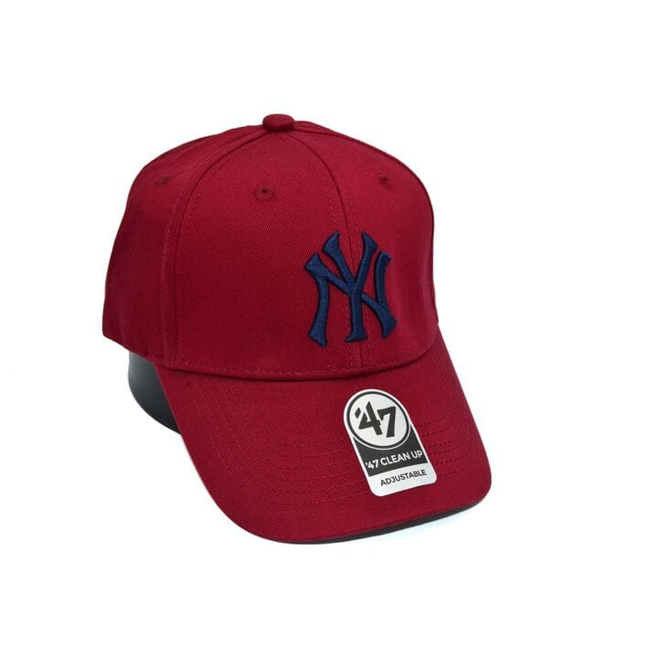 Бейсболка MBL 47 Adjustable New York Yankees бордовая (C 0919-244)