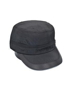 Утеплённая немка Classic 56-58 см чёрная с флисовой подкладкой (С 0919-361)