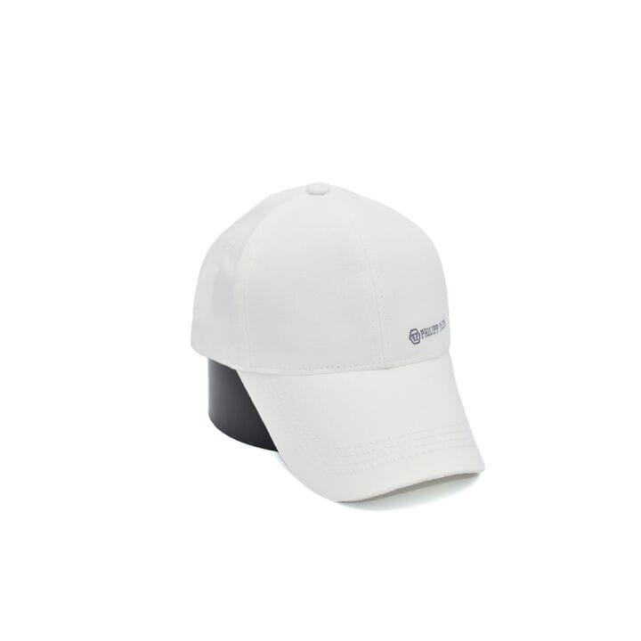Кепка Atrics-бренд Philipp Plein 55-59 см біла (0919-19)
