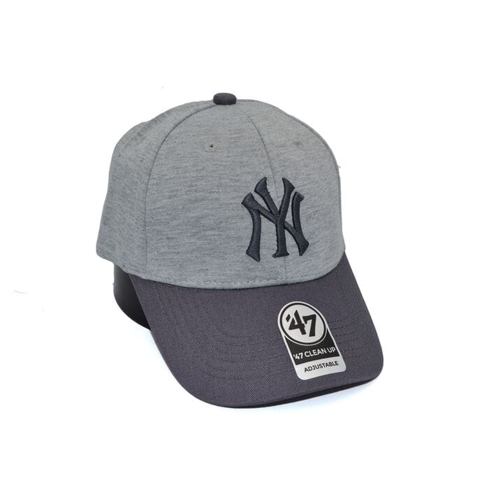 Бейсболка MBL 47 Adjustable New York Yankees светло-серая (C 0919-245)