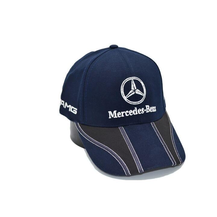 Кепка Fang c автомобильным логотипом Mercedes Benz 56-58 см темно-синяя (F 0919-490)