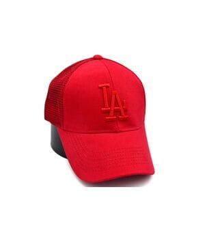 Бейсболка сетка Art cap LA Dodgers 56-61 см красная (0919-529)