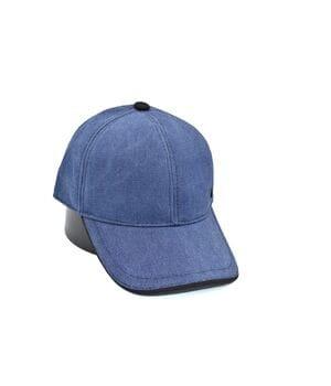 Кепка Fashion однотонная 56-58 см джинс (0919-594)