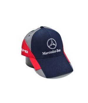 Кепка Fang c автомобильным логотипом Mercedes Benz 56-58 см темно-синяя (F 0919-491)