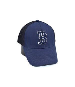Бейсболка сетка Art cap Boston Red Sox 56-61 см синяя (0919-520)
