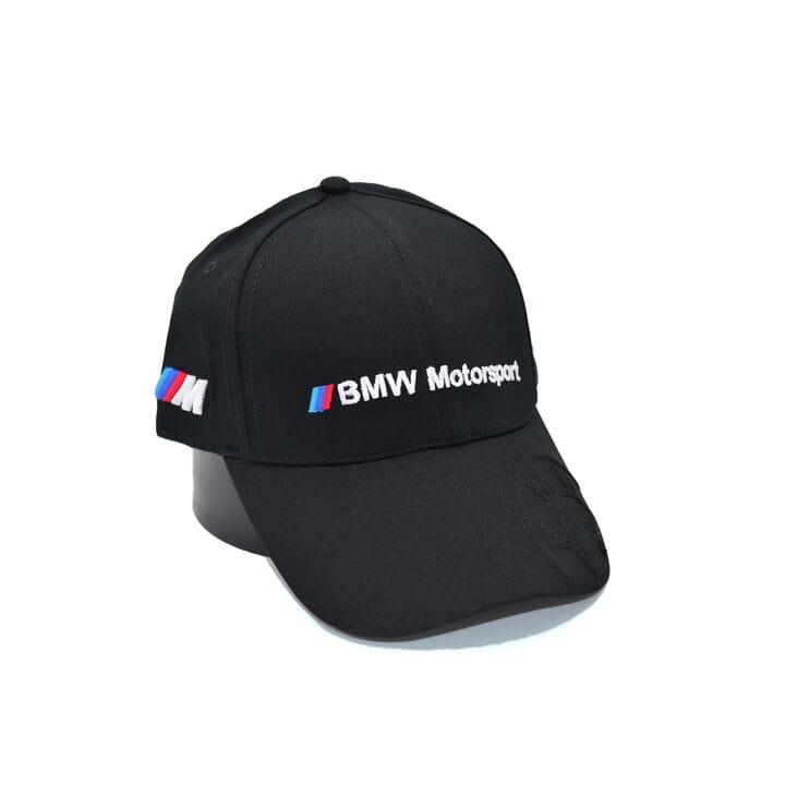 Кепка Fang c автомобильным логотипом BMW Motorsport 56-58 см чёрная (F 0919-495)