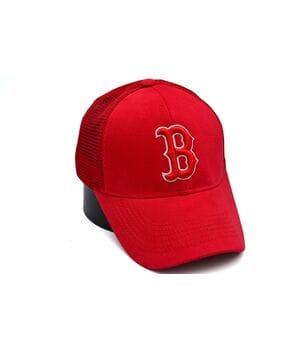 Бейсболка сетка Art cap Boston Red Sox 56-61 см красная (0919-522)