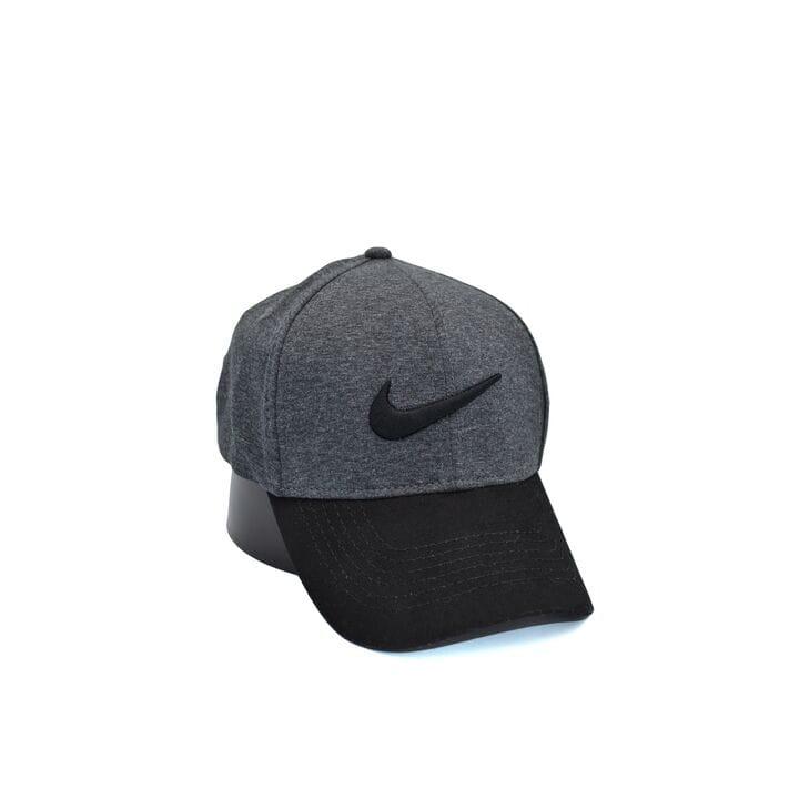 Кепка фулка Flexfit Nike 56-58 см темно-серая (0919-89)