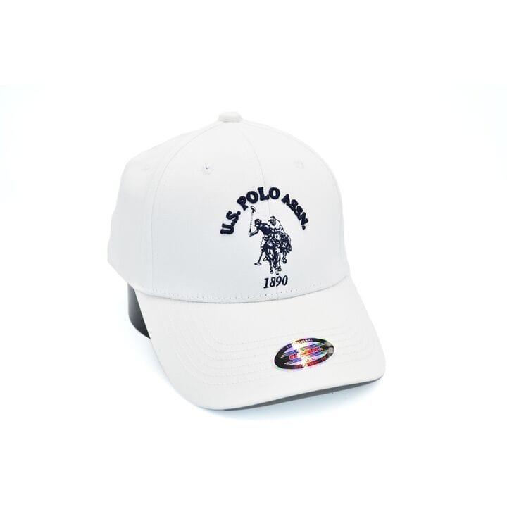 Кепка фулка Classic U.S. Polo Assn. 57-59 см белая (C 0919-284)