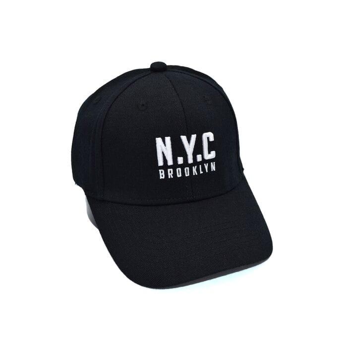Шерстяная бейсболка фулка N.Y.C. Brooklyn 55-57 см чёрная (C 0920-333)