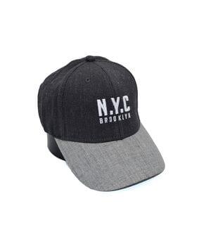 Шерстяная бейсболка фулка N.Y.C. Brooklyn 55-57 см темно-серая (C 0920-334)