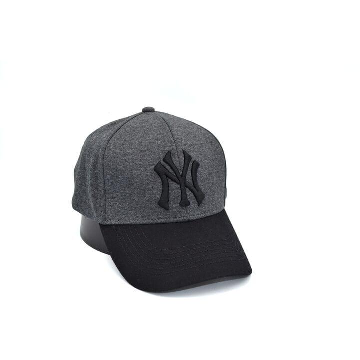 Кепка фулка Fang New York Yankees 56-58 см темно-серая (0919-77)