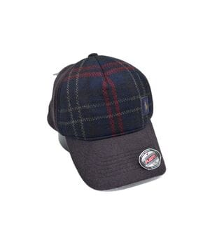 Утеплённая кепка фулка Flexfit Polo 56-58 см тёмно-бордовая (F 0919-355)