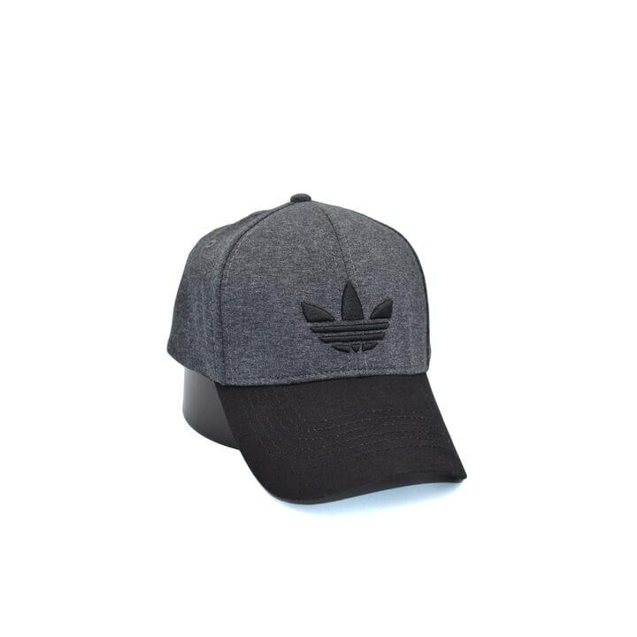 Кепка фулка Flexfit Adidas 56-58 см темно-серая (0919-103)