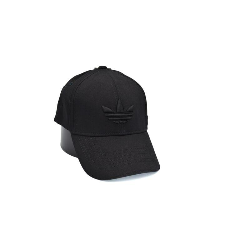 Кепка фулка Flexfit Adidas 56-58 см чёрная (0919-104)